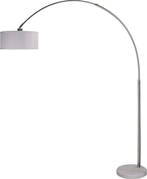 Milton Greens Stars Sophia Arc Floor Lamp